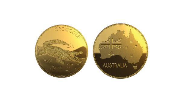 Australia Gold Medallion