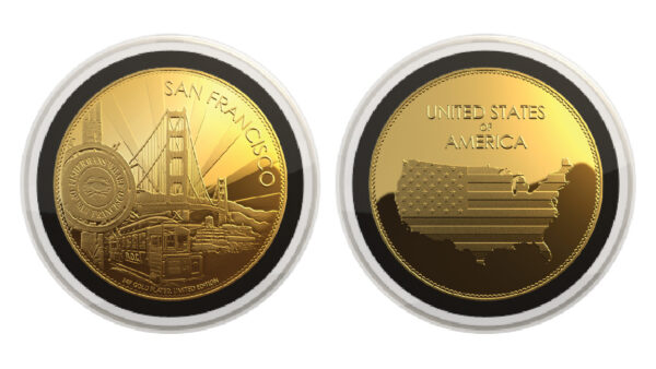 USA 24K Gold Plated