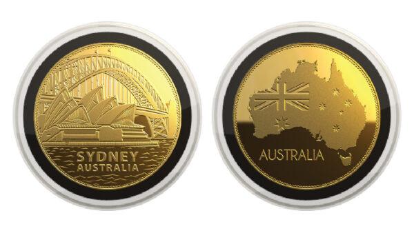 Australia 24K Gold Plated